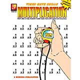 Remedia Publications REM503 Multiplication Timed Math Drills Book, 0.1