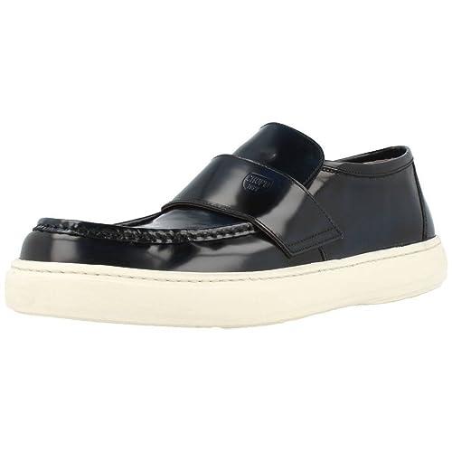 Mocasines para Hombre, Color Azul, Marca SERGIO SERRANO, Modelo Mocasines para Hombre SERGIO SERRANO 61000 Azul: Amazon.es: Zapatos y complementos