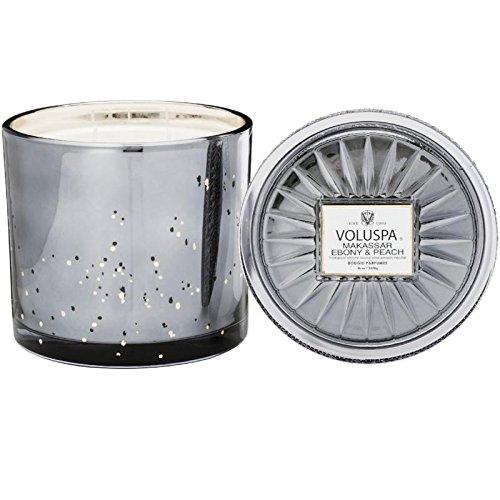 - Voluspa Casa Pacifica Grande Maison 3 Wick Glass Candle, 36 ounces
