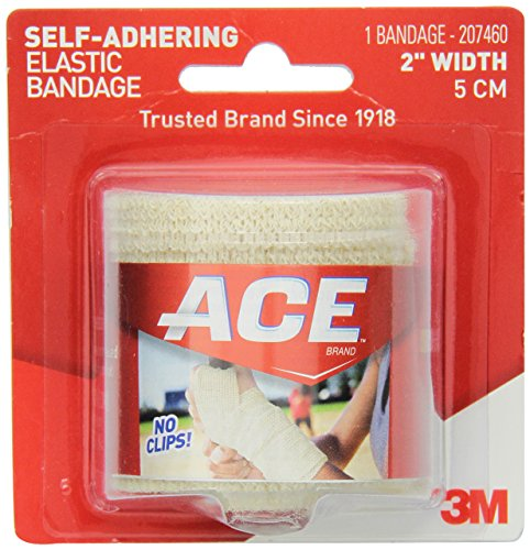 (ACE Self-Adhering Elastic Bandage, 2 Inches (Pack of 3))