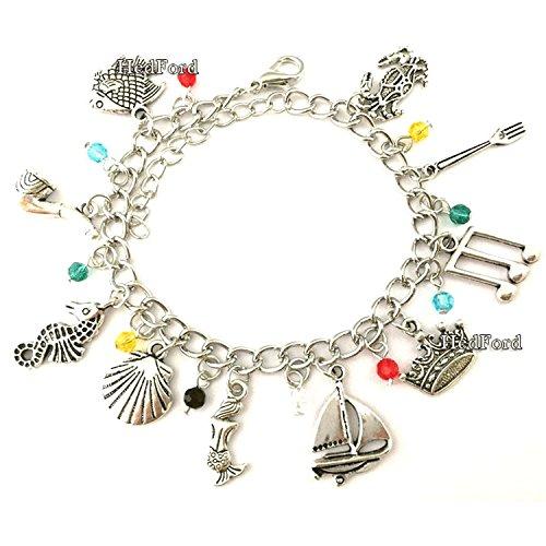 The Mermaid Themed Charm Bracelet