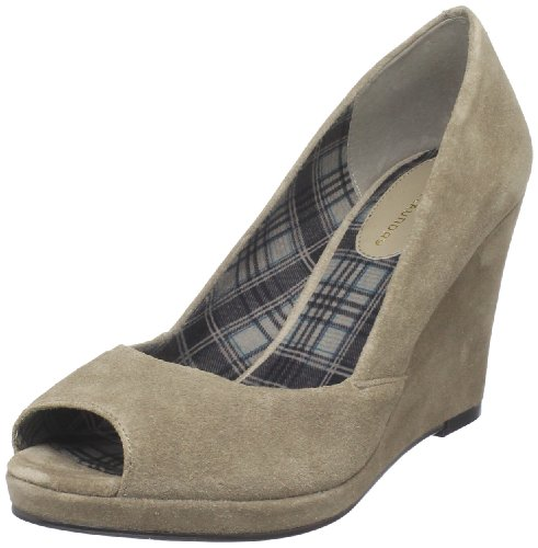 Shooter Laundry 6 Taupe US 5 M Pump Chinese Toe Women's Open BH0nxnA