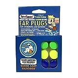 Putty Buddies–Tapones para los oídos 3-Pair Pack–Tapones de silicona suave flotante para la natación & baño, Inventado Por Médico–Keep Out–de agua Premium–Tapones para los oídos de natación Doctor recomendado, Verde/ amarillo/ azul