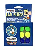 PUTTY BUDDIES Floating Earplugs 3-Pair Pack - Soft Silicone Ear Plugs for Swimming & Bathing - Invented by Physician - Block Water- Premium Swim Earplugs - Doctor Recommended - Ear Tubes