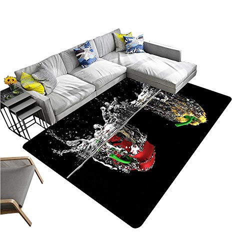Durable Outdoor Entrance Mat Kinetic Water Entry Provides Protection and Cushion for Floors W33 x H21 INCH