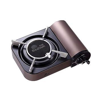CY&Y Estufa de Gas portátil, Compacto portátil de la Estufa de Gas de la Cocina de ...