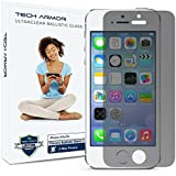 iPhone 5 Glass Screen Protector, Tech Armor Privacy Ballistic Glass Apple iPhone 5C/5S/5/SE Screen Protectors [1-Pack]