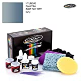 HYUNDAI ELANTRA/BLUE SKY MET - N2U / COLOR N DRIVE TOUCH UP PAINT SYSTEM PAINT CHIPS SCRATCHES/BASIC PACK