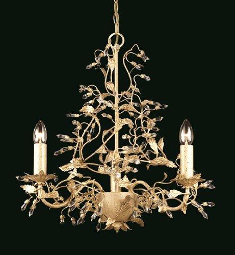 8ec9c544180 gold leaf chandelier progress lighting italiano light creamgold leaf  crystal chandelier chandelier amazoncouk
