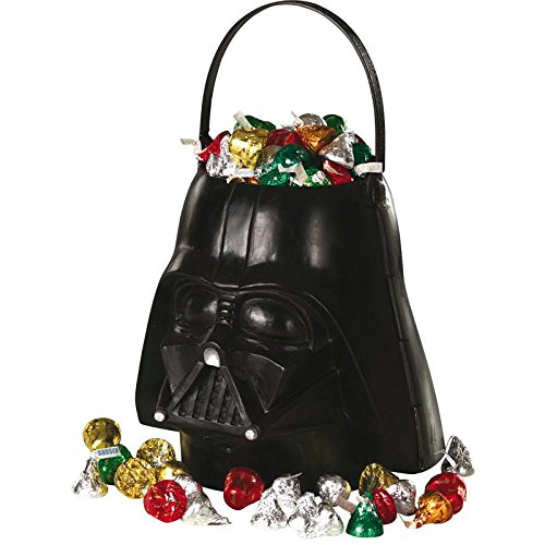 Darth Vader Toddler Costumes (Rubies Star Wars Darth Vader Trick-or-Treat Pail)