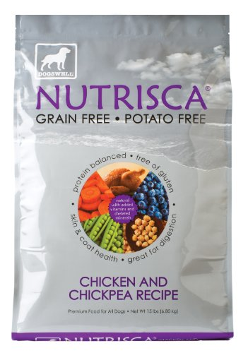 Dogswell Nutrisca Dog Food, Chicken and Chickpea, 15-Pound Package, My Pet Supplies