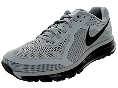 outlet store c1ea4 3c7e2 Nike Air Max 2014 Mens Running Shoes Wolf Grey Black Cl Gry Drk Gry 12.5  D(M) US  Buy Online at Low Prices in India - Amazon.in