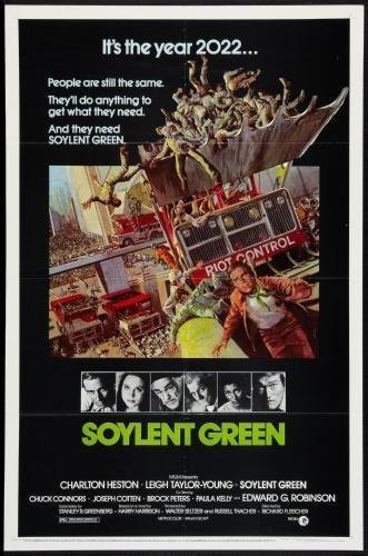 Soylent Green Movie Poster #01 (Soylent Green Poster)