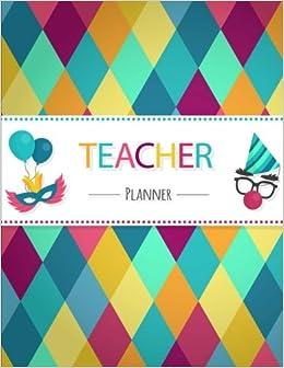 amazon com teacher planner teaching plan book attendance list