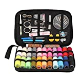 Sewing KIT 96 PCS Most Useful Colors of Threads Quality Pins and Needles Mini Travel Sewing Kit for Beginners Emerge Sewing kit for DIY, Beginners, Emergency, Kids, Summer Campers, Travel and Home.