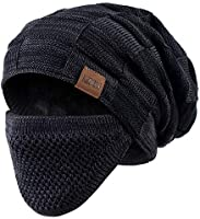 REDESS Beanie Hat for Men and Women Winter Warm Hats Knit Slouchy Thick Skull Cap