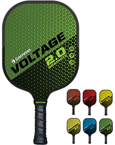 GAMMA Sports 2.0 Pickleball Paddles: Voltage 2.0 Pickleball Rackets
