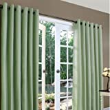 Thermalogic Weathermate Insulated Grommets Cotton Curtain Panels, 80 X 95  sage Review