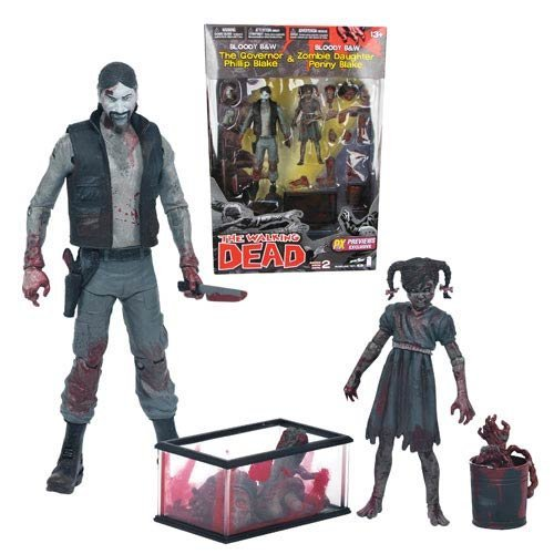 Walking Dead The Governor and Daughter Penny Comic Series -