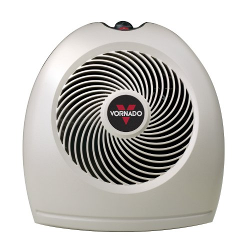 Vornado 1500 Watt Whole Room Fan Heater, with VORTEX Technology, and Whisper Quiet Operation, Features a Adjustable Thermostat, with 2 Fan Speeds, and Top Mounted Controls, with Antifreeze Mode, and Safety Shutoff Ceramic Heaters Vornado