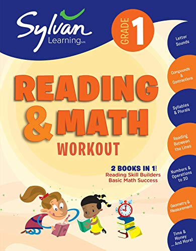 (1st Grade Reading & Math Workout: Activities, Exercises, and Tips to Help Catch Up, Keep Up, and Get Ahead (Sylvan Beginner Workbook))