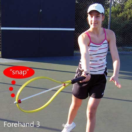 OnCourt OffCourt Snap Racquet - Rapidly Improve Swing Contact/Helps with All Strokes