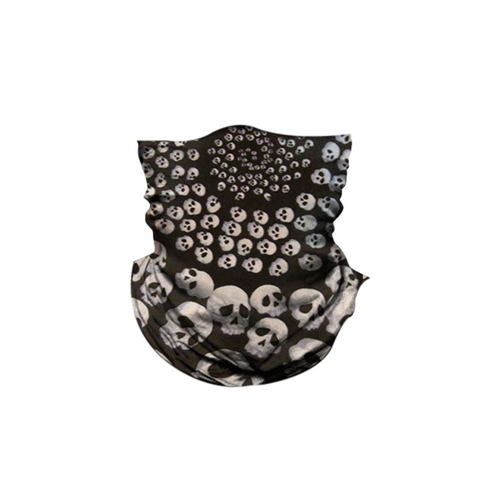 Aesy Deportes Cara Máscara, 3D Imprimir Cráneo Digital Sin Costura ...