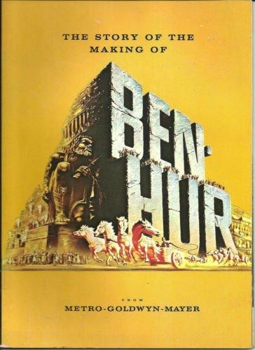 Ben-Hur 1959 original movie program - NOT A DVD