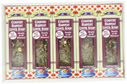 (Leonard Mountain Country Harvest Lentil Dry Soup Mix, 6 Oz, 5 Count)