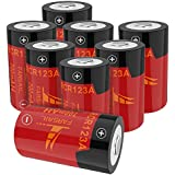 Rechargeable Batteries CR123A for Arlo, FARSAIL 8-Pack 700mAH 3.7V RCR123A Lithium ion Batteries Compatible with Arlo VMC3030 VMK3200 VMS3130 3230C 3430 3530 Wireless Security Cameras Alarm System