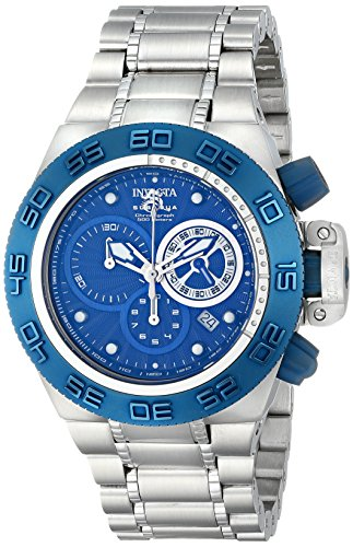 Invicta Men's 10150 Subaqua Noma IV Chronograph Royal Blue Textured Dial Watch (Watch Blue Textured Dial)