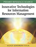 Innovative Technologies for Information Resources Management, Mehdi Khosrow-Pour, 1599045702