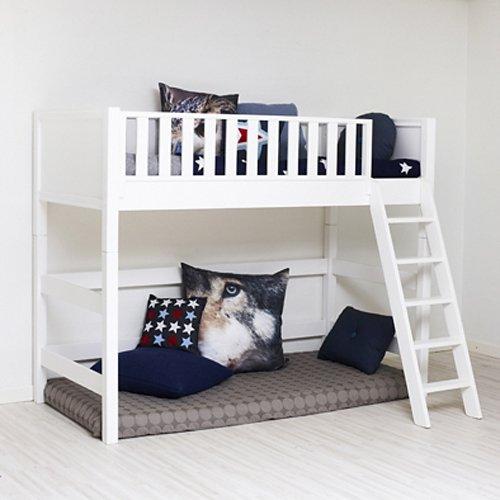 massives hochbett von sanders umbaubar zum einzelbettt multifunktionsbett fanny mid high. Black Bedroom Furniture Sets. Home Design Ideas