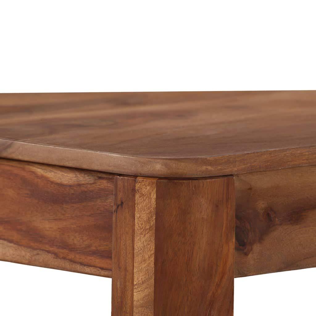 vidaXL Legno Massello di Sheesham Tavolino da Bar Collazione Tavolo da Cucina