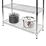 Seville Classics Baker's Rack for Kitchens, Solid