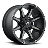 Fuel D556 Coupler 20x9 6x135/6x139.7 +1mm Black/Machined Wheel Rim
