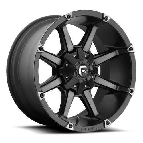 Fuel D556 Coupler 20x9 6x135/6x139.7 +1mm Black/Machined Wheel Rim