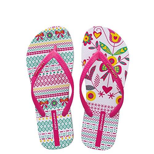 6d19b1e7e Hotmarzz Women s Fashion Summer Flip Flops Beach Shoes Flat Sandals Size 7  B(M) US 38 EU 39 CN
