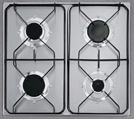 Fagor 2FPD-4GLSX/BUT hobs - Placa (Incorporado, Gas, Acero ...