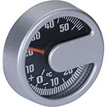 HR 10010301 Self-Adhesive Automobile Interior/Exterior Thermometer - CELSIUS ONLY - No Fahrenheit