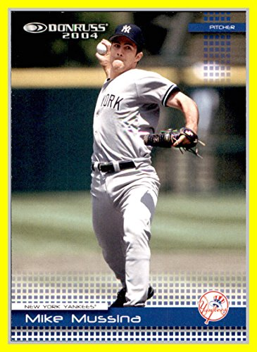 2004 Donruss #157 Mike Mussina NEW YORK - Ny 157