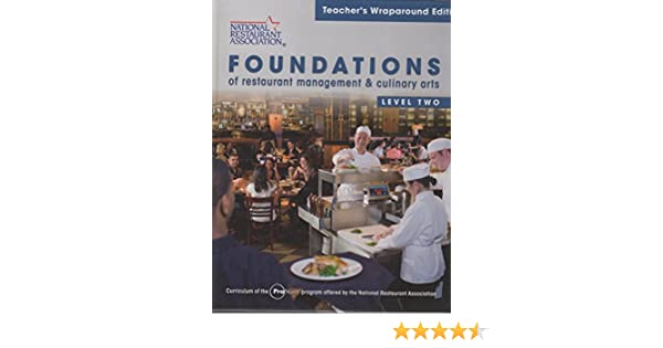 foundations of restaurant management and culinary arts level 2