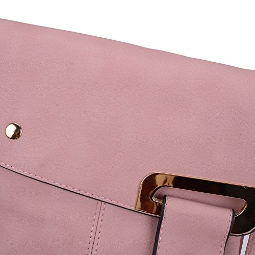 Fashion PU High Messenger YOUNG Bags Classic Quality Pink Cross Bags Leather Women SALLY Flap Body 5AUwg