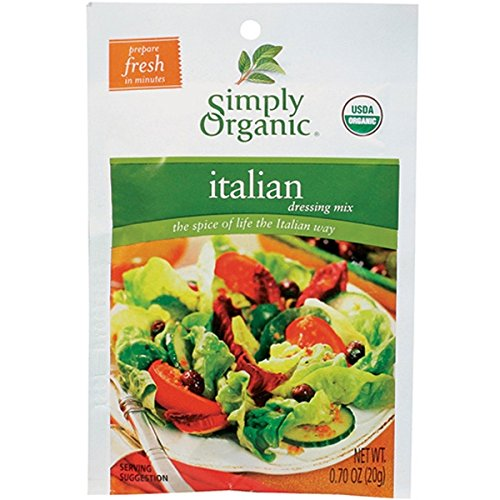 Simply Organic Italian Dressing Mix (Pack of 3)
