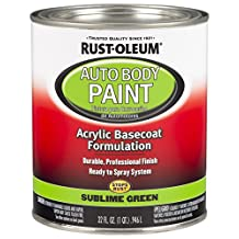 Rust-Oleum 275235 Sublime Green Automotive Auto Body Paint - 32 oz.