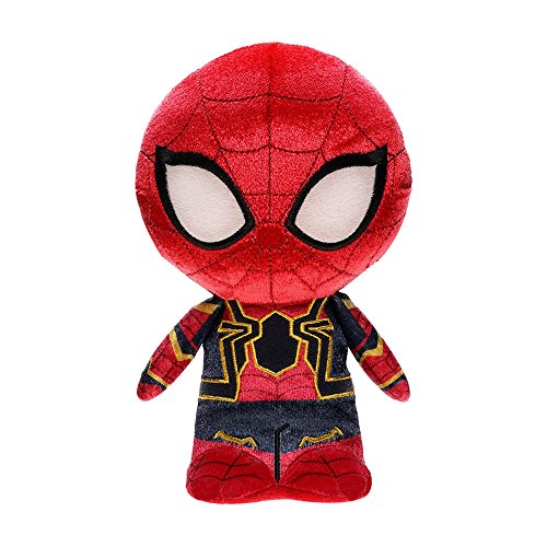 Funko Hero Plushies Marvel: Avengers Infinity War-Iron Spider Collectible Figure, Multicolor