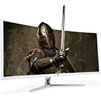 RAEANTECH REAL CURVED 34CQ100 3440x1440 REAL100HZ AMD FREE Sync Curved Gaming Monitor