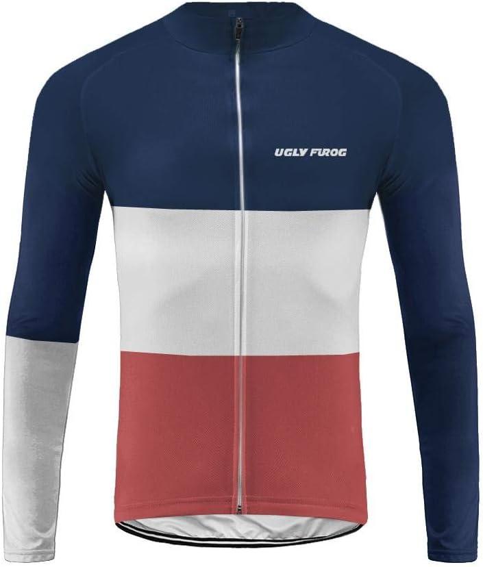 Uglyfrog 2019 MTB Rennrad Radsport Trikots Bikingjacke Fahrrad Jacke Hose Set Radjacke Winter Leicht Wasserfest Windjacke Lange Radhose Freizeithose Anz/üge