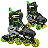 Roller Derby Flux Boys Inline/Roller Combo Skate Medium (3-6)