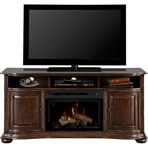 Dimplex Henderson Electric Fireplace & Entertainment Center - Realogs Firebox